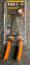 Klein Tools Electrician's Insulated Wire Stripper/Cutter 11054EINS (READ DESC)