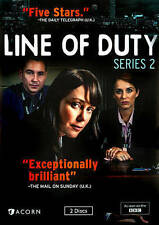 Line of Duty: Series Two DVD, 2014, 2-Disc Set BBC Crime Drama