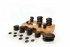 HOT STONE MASSAGE THERAPY XANITALIA PIETRE MASSAGGIO KIT PROFESSIONALE SET 36pz