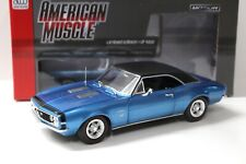 1:18 Auto World Chevrolet Camaro SS 427 Baldwin Motion NEW bei PREMIUM-MODELCARS
