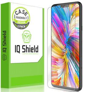 2x IQ Shield Ultra Clear Film Screen Protector for LG V40 ThinQ (Case Friendly)