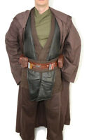 Deluxe Anakin Skywalker Costume jedi star wars tunic robe belt pouchs capsules