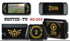 Vinyl Decal Skin Sticker Protector for Nintendo Switch The Legend of Zelda a 302