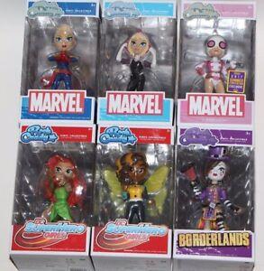 FUNKO ROCK CANDY VINYL COLLECTIBLE SDCC MARVEL DC SUPER HERO GIRLS BORDERLANDS