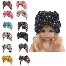 Baby Kids Girls Warm Bowknot Caps Muslim Childs Turban Hats Hijab Headwear Wrap
