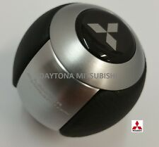 MITSUBISHI EVOLUTION SHIFT KNOB LEATHER ALUMINUM EVO X