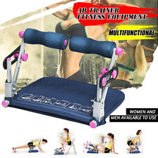 Ab Sit-ups Fitness Abdominal Exercise Machine Body Trainer Equipment Home Gym