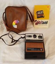 Kodak Colorburst 100 Instant Camera w/ Leather Travel Bag