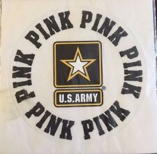 Victoria's Secret PINK U.S. Army Collegiate Collection Sticker Decal