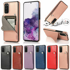 Ultra Slim Wallet Leather Card Holder Case For Samsung A51 A71 A11 A21S S20 S10