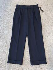NWT Women's Tahari ASL Arthur S Levine Petite Blue Dress Pants Size 8P