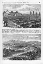 1870 FRANCO GERMAN WAR Cannon Guns Captured Shells Shots Military Hauheim (141)