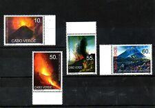CABO VERDE,  2007,VOLCANOES, 4v. MNH,