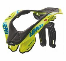 2017 Leatt Brace GPX 5.5 Lime Adult S/M #S/M Neck Brace Protection Dirtbike