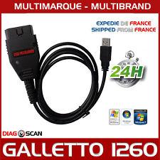 Interfaccia Galletto 1260 CHIP TUNING FLASH PROGRAMMAZIONE ECU+Pacchetto