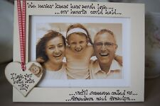 Personalised Photo Frame! Grandparents Gift!
