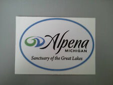 Alpena Michigan Sanctuary of the Great Lakes Sticker Decal graphic great lakes