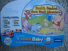 vtech V.SMILE BABY Pooh's Hundred Acre Wood NEW