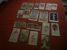 LOT DE 35  IMAGES RELIGIEUSES