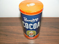 vintage EMPTY/LEER TIN/DOSE Bensdorp Holland Royal Dutch Cocoa
