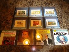 Lot of 10 Clásico Música CD's 6 Sellado+4 EX FB 106