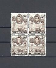CAYMAN ISLANDS 1938-48 SG 126a MNH Block of 4 Cat £152