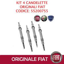 KIT 4 CANDELETTE ORIGINALI FIAT BRAVO 1.6 D MULTIJET 55200755