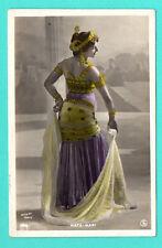 MATA HARI EXOTIC DANCER VINTAGE PHOTO POSTCARD 207