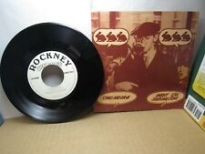 Old 45 RPM Record - Rockney 9 A 1 - Chas & Dave - Rabbit / The Seaboard Song