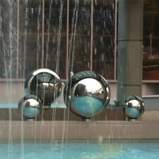 Metal Sphere Ball Mirror Glossy Smooth Stainless Steel Outdoors Indoors Decor