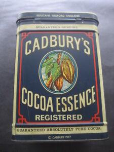 Box Metal CADBURY'S COCOA Essence