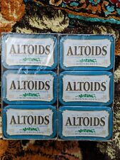 ALTOIDS Classic Wintergreen Breath Mints 1.76-Ounce Tin Pack of 12