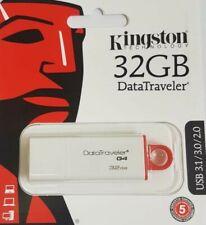 Kingston DataTraveler G4 32 GBFlash Drive - USB 3.1 - 3.0 - 2.0