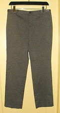 Bass NWT Stretch BROWN Mid-rise Straight-leg PANTS ~ Size 8R  34X31 ~ $74 New