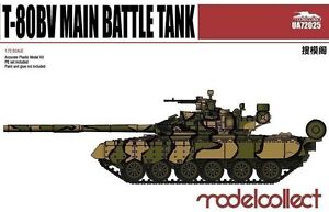 Modelcollect 1/72 Kits T-80BV Main Battle Tank UA72025