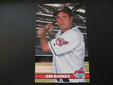 2003 John McDonald Cleveland Indians Post Cards / Postcards