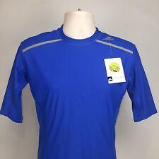 Adidas mens tf Chill Techfit Compression Shirt xlarge xl AY3671 Blue New