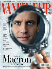 Vanity Fair 2017 18.Emmanuel Macron,Sigourney Weaver-Katherine Waterston,D.Lynch