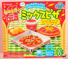 Kracie MIX PIZZA Japanese Candy Making Kit Popin Cookin Happy Kitchen Gift New