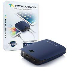 Tech Armor ActivePower 12000mAh External Battery Dual USB Portable Power Bank
