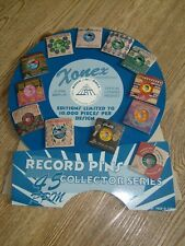 Rock & Roll Hall of Fame + Museum Inductees Disc Record Pin Collection  All 12
