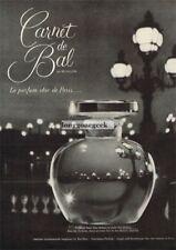 1960 REVILLON Carnet de Bal Perfume Le parfum chic de Paris Vtg Print Ad