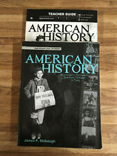 American History for High School- text and teachers guide
