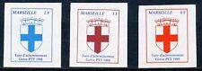 TIMBRE FRANCE DE GREVE MARSEILLE TAXE D'ACHEMINEMENT NEUF ** 1988 COTE 51 €