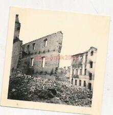Foto, II/IR.42, abgebrannte Kaserne in Warschau, Polen, 1939 (N)19843