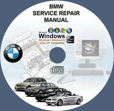 BMW 5-SERIES E39 E34  E53 E E60 E61 E70 X5 M5 SERVICE REPAIR MANUAL on DVD