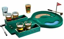 Novelty Golf Drinking Game Set with 6 Shot Glasses Drinking Party Game Bar Toy