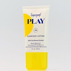 Supergoop! PLAY Everyday Lotion SPF 50 with Sunflower Extract - 1 oz./ 30ml