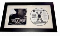 TRACE ADKINS Signed X TEN CD FRAMED Autograph Music JSA COA Cert