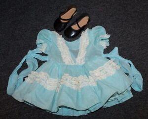 Vtg Doll Clothing FITS PATTI PLAYPAL Mary Jane Shoes